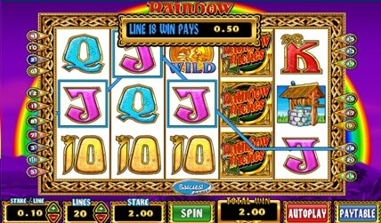 Rainbow Riches Slot screenshot 3