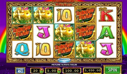 Rainbow Riches Slot screenshot 1
